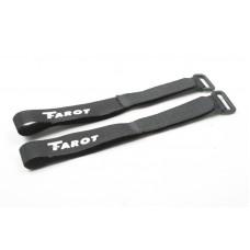 Стяжки на липучке Tarot 36см 2шт для крепления аккумуляторов (TL2698)