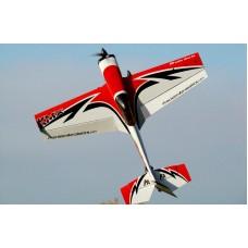 Самолёт р/у Precision Aerobatics Katana MX 1448мм KIT (красный)