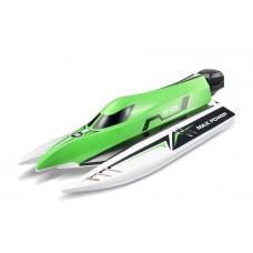 Катер на радиоуправлении WL Toys WL915 F1 High Speed Boat бесколлекторный (зеленый)