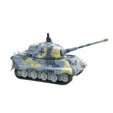 Танк микро р/у 1:72 King Tiger со звуком (серый, 49MHz)