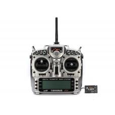 Аппаратура управления FrSky Taranis X9DP с приёмником X8R в алюминиевом кейсе
