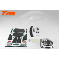 Team Magic K Factory TPR Touring Car Body (Clear, 190mm)