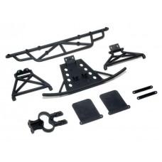 Бамперы передний и задний LC Racing 1/14 для EMB-SC, EMB-WRC, EMB-DT, EMB-TG (LC-6039)