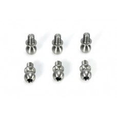 Team Magic E4 5x4mm Ball Stud 6p