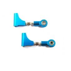 (82909) Blue Alum Front Upper Susp Arms 2P