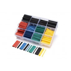 Термоусадка цветная 1.5-10мм набор 530шт