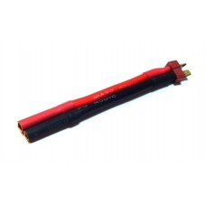 Переходник AGA POWER T-Plug Male -> Bullet 4.0mm Female для аккумуляторов