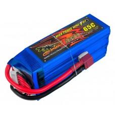 Аккумулятор Dinogy Li-Pol 2250mAh 22.2V 6S 65C 47x35x106мм T-Plug