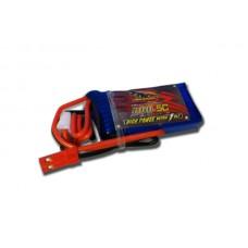 Аккумулятор Dinogy Li-Pol 300mAh 7.4V 2S 65C JST 45x16.5x13.4мм