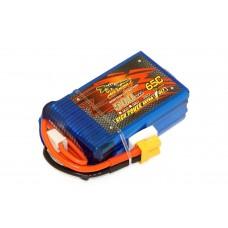 Аккумулятор Dinogy Li-Pol 500mAh 14.8V 4S 65C XT30 53x31x19мм