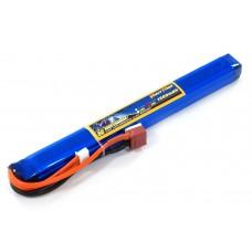 Аккумулятор для страйкбола Giant Power Li-Pol 11.1V 3S 1300mAh 25C 18х17х190мм T-Plug