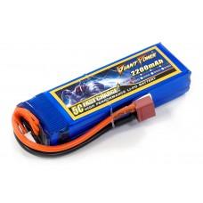 Аккумулятор для страйкбола Giant Power Li-Pol 11.1V 3S 2200mAh 25C 24х34х102мм T-Plug