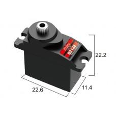Сервопривод микро 11г BATAN B2122 2.5кг/0.12сек металл