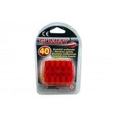 Пульки резиновые для игрушечного пистолета Edison Giocattoli калибр 8мм 40шт (410/42)
