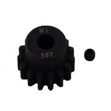 Пиньон стальной RCTurn M1.0 под вал 5мм (15T)