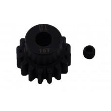 Пиньон стальной RCTurn M1.0 под вал 5мм (16T)