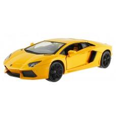 Машинка радиоуправляемая 1:24 Meizhi Lamborghini LP700 металлическая (желтый)
