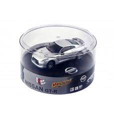 Машинка ShenQiWei микро р/у 1:43 лиценз. Nissan GT-R (серый)