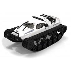 Танк вездеход на радиоуправлении 1:12 Military Police (белый)
