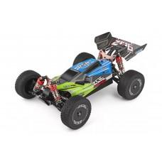 Машинка на радиоуправлении 1:14 багги WL Toys 144001 4WD (зеленый)
